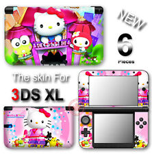 Hello Kitty Pink CUTE SKIN VINYL STICKER DECAL COVER #2 for Nintendo 3DS XL