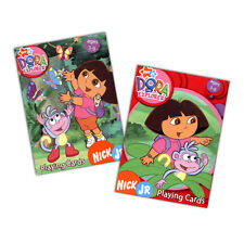 DORA THE EXPLORER Deck of playing cards learn to count match sequence game kid