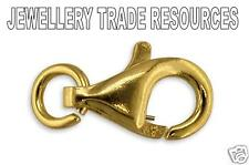 18ct Yellow Gold - 8mm Long - Lobster Trigger Jewellery Clasp