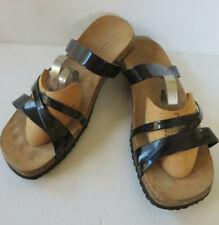 TCM comfort ° bequeme Pantoffel Gr. 41 schwarz Damen Schuhe Sandalen Clogs