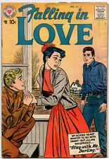 FALLING IN LOVE #15 - December 1957 - DC - Silver Age Romance Classic!