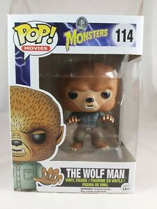 Movies Funko Pop - The Wolf Man - Universal Monsters - No. 114