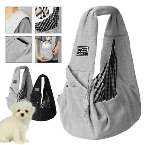Dog Cat Pet Carrier Outdoor Puppy Shoulder Sling Bag Tote Travel Soft Bag Pouch