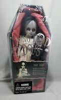 LDD living dead dolls series 8 * THE LOST VARIANT *SEALED white dress black doll