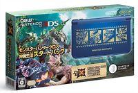 Nintendo 3DS LL console Monster Hunter cross X start pack Japan ver. NEW