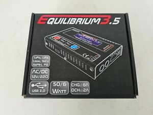 Equilibrium 3.5 Battery Charger RC Model Racing Cars
