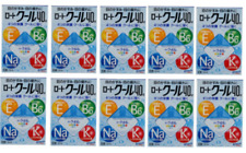 10 Packs set !! Rohto Cool 40α 12ml Eye Drops Japan import new