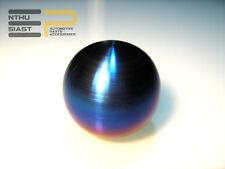 Echt Titan Titanium Ti Burnt JDM Schaltknauf Rund Gebürstet M10 x 1.25