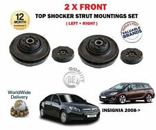 FOR VAUXHALL OPEL INSIGNIA 2008-> NEW 2 X FRONT TOP STRUT SHOCKER MOUNTINGS KIT