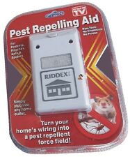 10x Riddex Ultrasonic (Australian Plug) Pest Control, Electronic, Mice Repellant