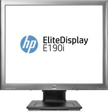 "HP E4U30A8#ABA Elite E190i 18.9"" SXGA LED LCD Monitor - 5:4 - 1280 x 1024 -Black"