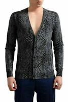 Kiton Napoli Mens Dark Green Cashmere Silk Button Down Knitted Vest US XL IT 54 KJ-14524