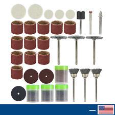 146pcs Rotary Tool Accessory Set Fit Dremel Tools Abrasive Polishing Sanding Set