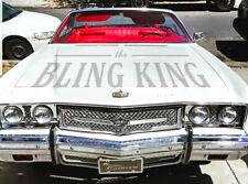 1973 Chevy Impala Caprice chrome grill triple weave mesh headlight bezel grilles
