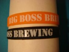 2 Beer Brewery Wristbands <> Big Boss Brewing Company <> Raleigh, North Carolina
