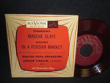 "Arthur Fiedler""Tchaikovsky:Marche Slave""Ketelbey:In A PersianMarket"" 45 EP"