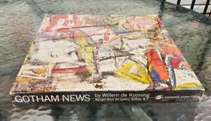 NEW 1969 Springbok Puzzle GOTHAM NEWS Willem de Kooning 500 PCS. Abstract Art