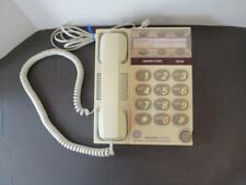 Ge memory phone Model 2-9266A beige large numbers