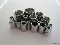 Mixed Lot of 6-Point Craftsman Sockets