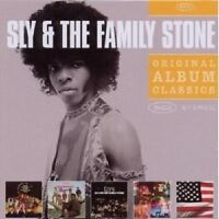 SLY & THE FAMILY STONE - ORIGINAL ALBUM CLASSICS 5 CD +++++++++++++NEU