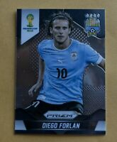 Diego Forlan 2014 World Cup Prizm Base Card #192