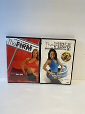 The Firm - Fast and Firm Series Express Cardio (Dvd 2004 Lot Of 2) Total Sculpt