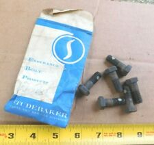 6 NOS ENGINE FRONT MOUNTING BOLTS FOR 1962-64 STUDEBAKER 6-CYL CAR MODELS NEW