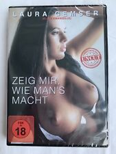 ZEIG MIR, WIE MAN's MACHT - UNCUT VERSION - DVD - NEU & OVP - FSK18