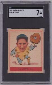 1938 Goudey Heads Up #257 Al Lopez SGC 7