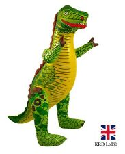 LARGE INFLATABLE DINOSAUR Blow Up Toy Animal Inflate Party Decoration 76 cm UK