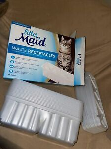 Litter Maid Waste Receptacles 1st & 2nd Edition 18 Count Carbon Filters for Odor