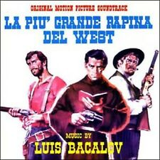 Luis Bacalov: La Piu Rapina Del West / Oro Dei Bravados, L' (New/Sealed CD)