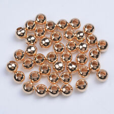 Silver/Gold/Rose Gold Smooth Round Spacer Beads 3mm 4mm 5mm 6mm 8mm 10mm