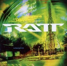 RATT - INFESTATION  CD HARD ROCK-METAL-PUNK-GROUNGE