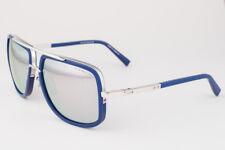 DITA MACH ONE Blue Silver / Gray Mirrored Sunglasses DRX-2030-J 59mm 2030