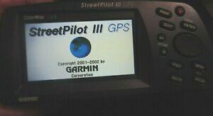 Garmin Street Pilot III Color Portable GPS 3 Deluxe Auto Routing and Voice