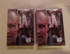 2 Decks of THE WALKING DEAD playing cards Merle BRAND NEW
