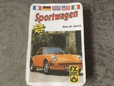 Quartett Kartenspiel Spielkarten Sportwagen Autos  52522 F.X.Schmid ? 2. Wahl