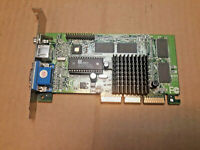 Retro nVIDIA RIVA TNT2 M64 32 MB AGP Video Card