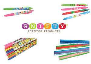 SNIFTY Scented Pens, Pencils & Rulers