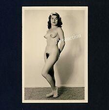 #447 RÖSSLER AKTFOTO / NUDE WOMAN STUDY * Vintage 1950s Studio Photo - no PC !