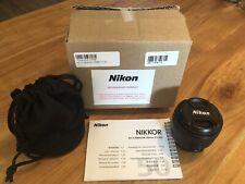Nikon AF-S FX NIKKOR 50mm F/1.4G Standard Lens, CLEAN EXCELLENT SHAPE