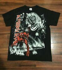 Iron Maiden Concert T Shirt Medium 2012 England Heavy Metal Grim Reaper Devil