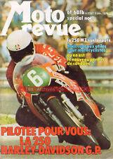 MOTO REVUE 2197 YAMAHA DT175 250 MZ KAWASAKI 1975 HARLEY DAVIDSON 250 AMF 1974