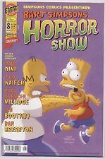 BART SIMPSONS HORROR SHOW # 8 - DINO VERLAG 2004 - TOP