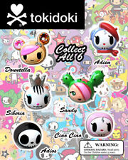 Tokidoki Perfume Bottle Cap Head Figure 3pc Random Capsule Toy Simone Legno