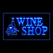 170006 Open Wine Shop Whiskey Beer Cocktail Party Bar Pub Club Led Light Signs