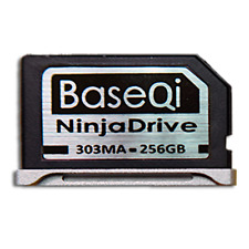 "BaseQi NinjaDrive 256GB for Macbook Pro Retina 13"" (iSDM 303MASV)"