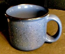 Marlboro Unlimited Blue Speckled Stoneware Coffee Cup/Mug Vintage