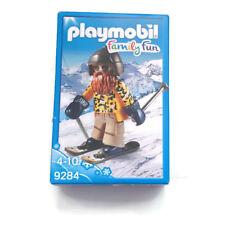 Playmobil Skier with Poles Esquiador con Snowblades 9284 Ski Skifahrer Skieur